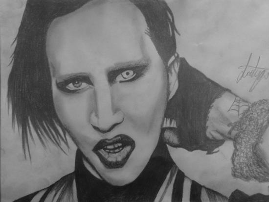 Marilyn Manson par dyga666